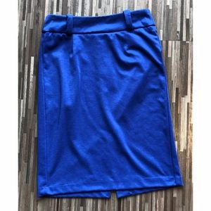 Cobalt Blue Pencil Skirt Size 6